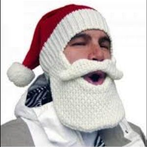 Accessories - Beard Head Santa Hat